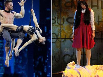 'America's Got Talent' 5th Judge: Blindfold Trapeze Act Seeks REDEMPTION After Dangerous Drop