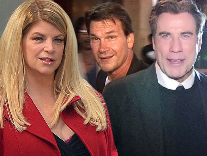 Kirstie Alley wanted to marry John Travolta and have an affair with Patrick Swayze.