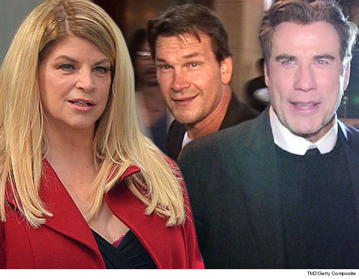 Kirstie Alley Confesses She 'Almost Ran Off And Married' John Travolta