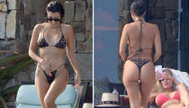 Kourtney Kardashian Shows Off Booty-ful Side of Cabo San Lucas