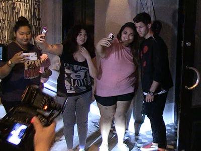 Nick Jonas at Dinner without Fiancee Priyanka Chopra