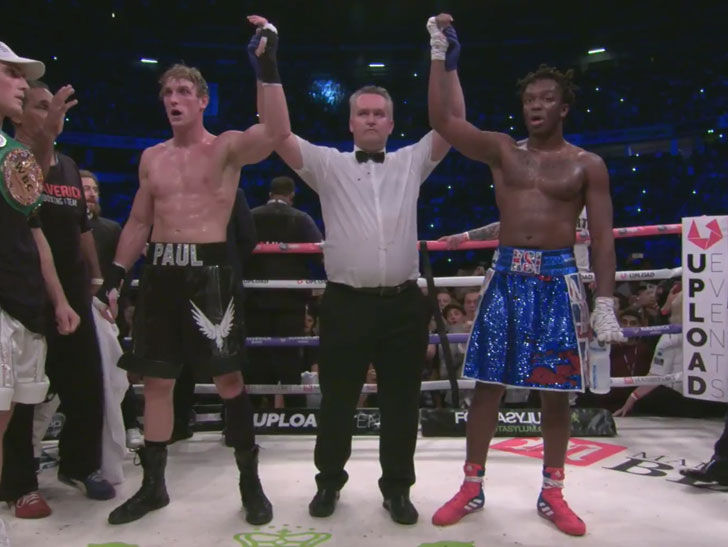 Logan Paul And Ksi Fight To A Draw In Youtube Superfight Jake