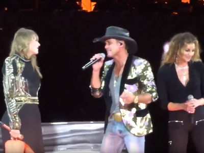 Taylor Swift Sings 'Tim McGraw' with Faith Hill and Tim McGraw Himself