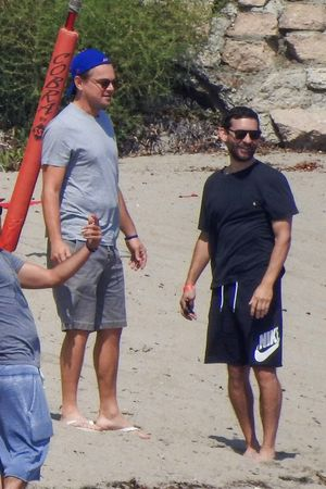 Celebrity Volleyball Match In Malibu