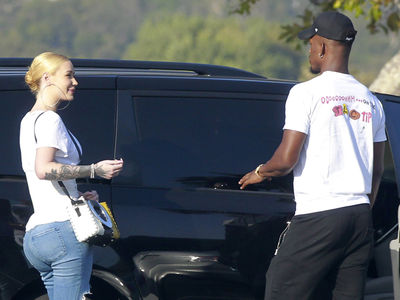 Iggy Azalea Hangin' With Jimmy Butler