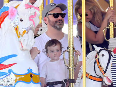 Jimmy Kimmel Takes Son, Billy, on First Trip to Disneyland