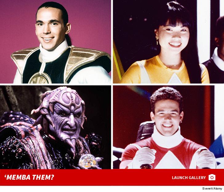 'Power Rangers' Cast -- 'Memba Them?