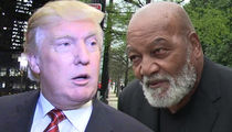 Donald Trump Praises Jim Brown, We're Helping Black People!