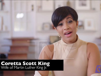 Cardi B Apologizes for Coretta Scott King Role in 'Housewives' of Civil Rights Movement