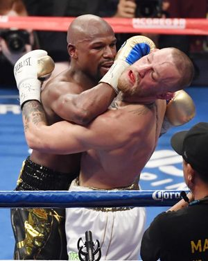 Floyd Mayweather vs. Conor McGregor -- The Fight Photos