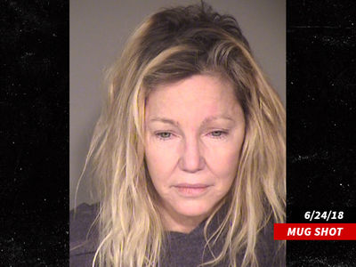 Heather Locklear Charged with Attacking Cop, EMT in June Altercation