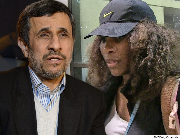 Ex-Iran President Mahmoud Ahmadinejad Defends Serena Williams