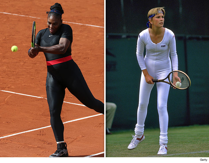Serena's Cat Suit Ban Is Sexist, Anne White Knows from Experience