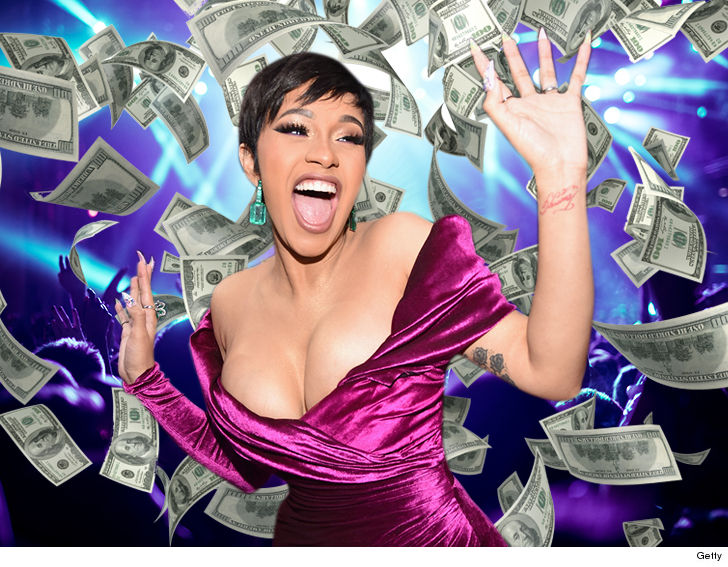 Cardi B's not leaving mommy duty for anything less than $300k per show.