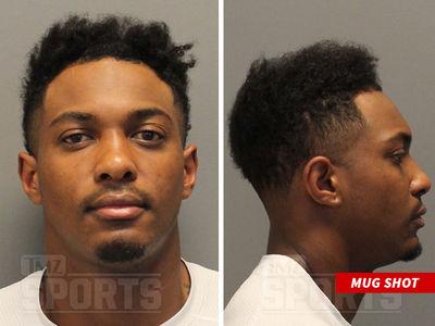 NFL's Cayleb Jones Mug Shot After Domestic Violence Arrest