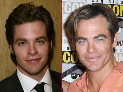 Chris Pine -- Good Genes or Good Docs?