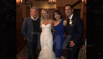 Katharine McPhee and David Foster Crash Wedding in Canada