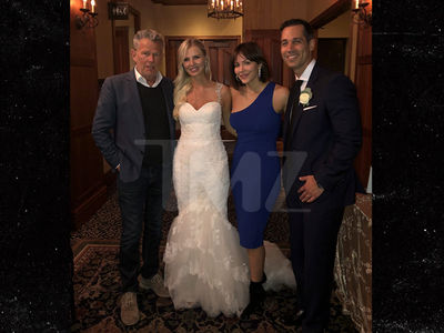 Katharine McPhee and David Foster Crash Wedding in Canada