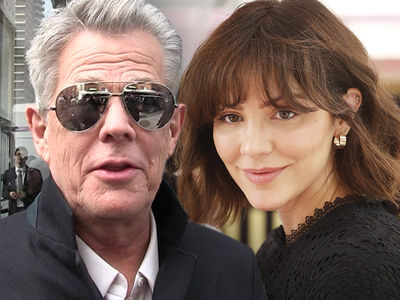 Katharine McPhee and David Foster Back in U.S. After European Engagement