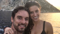 Pau Gasol and Hot GF in Bikini Take Romantic Trip to Ibiza