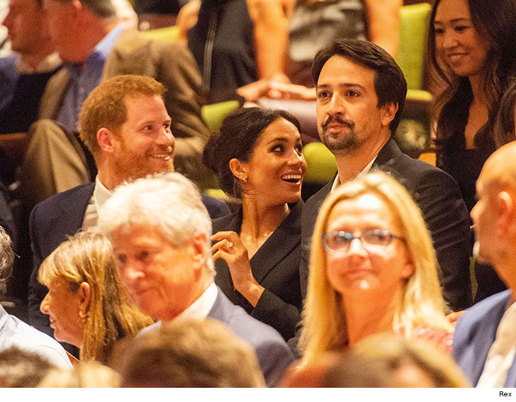 Meghan Markle and Prince Harry Join Lin-Manuel Miranda For 'Hamilton' Performance