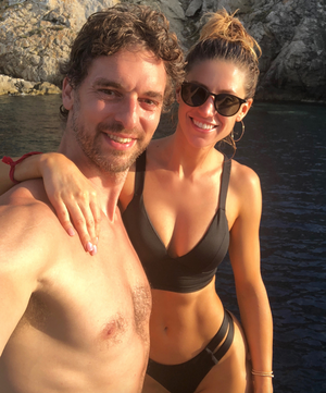 Pau Gasol and Cat McDonnell Together