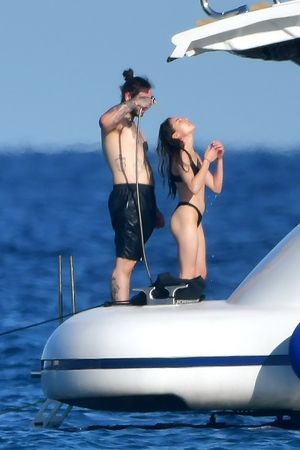 Post Malone's PDA On St. Tropez Yacht