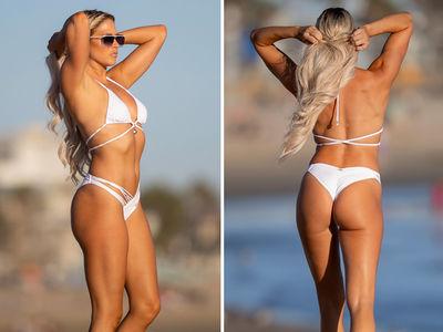 Ex-WWE Star Barbie Blank's Slammin' Bikini Bod
