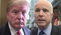 President Trump Doesn't Regret His Handling of John McCain's Death