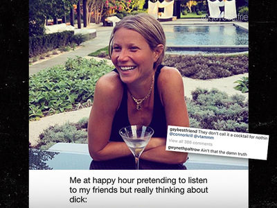Gwyneth Paltrow Shows Humble Side In Response To Dick Meme