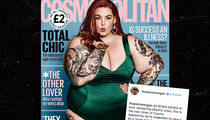 Tess Holliday Responds to Piers Morgan's Cosmo UK Cover Fat Shaming