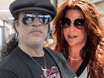 Slash Says He'll Help Perla If She Agrees to Divorce Deal, She Says It Ain't So Easy