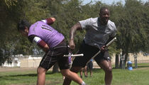 Martellus Bennett Wrecks Dudes Playing Quidditch