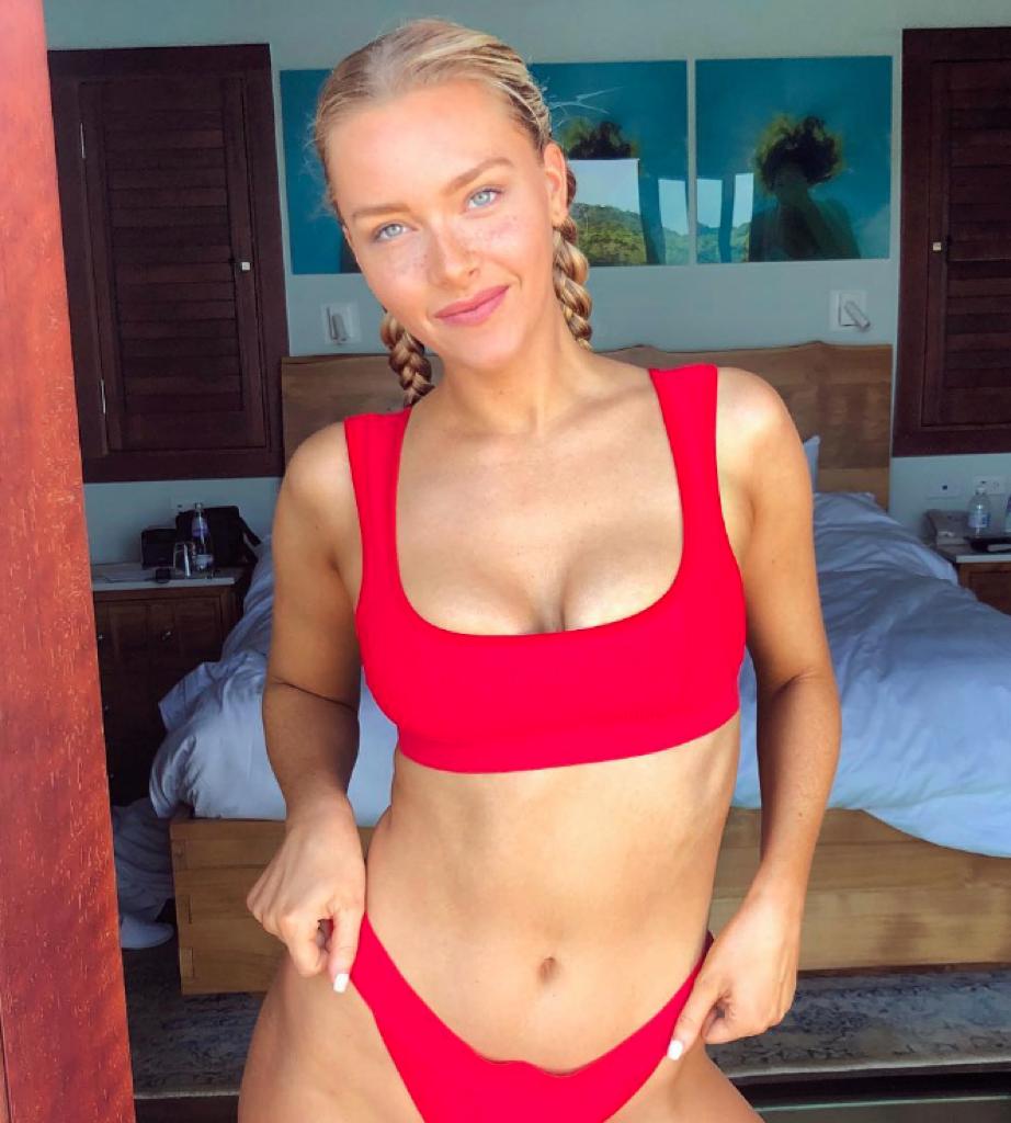Rob Gronkowski Girlfriend Is Camille Kostek: Camille Kostek's Sexy Instagram Photos On ZIG