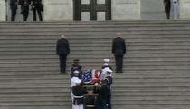 John McCain's Body Lying in State at U.S. Capitol