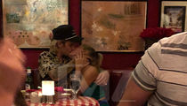 Justin Bieber and Hailey Baldwin Make Out During Dinner