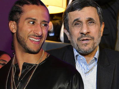 Ex-Iran President Mahmoud Ahmadinejad Backs Kaepernick, He Should Be In The NFL!