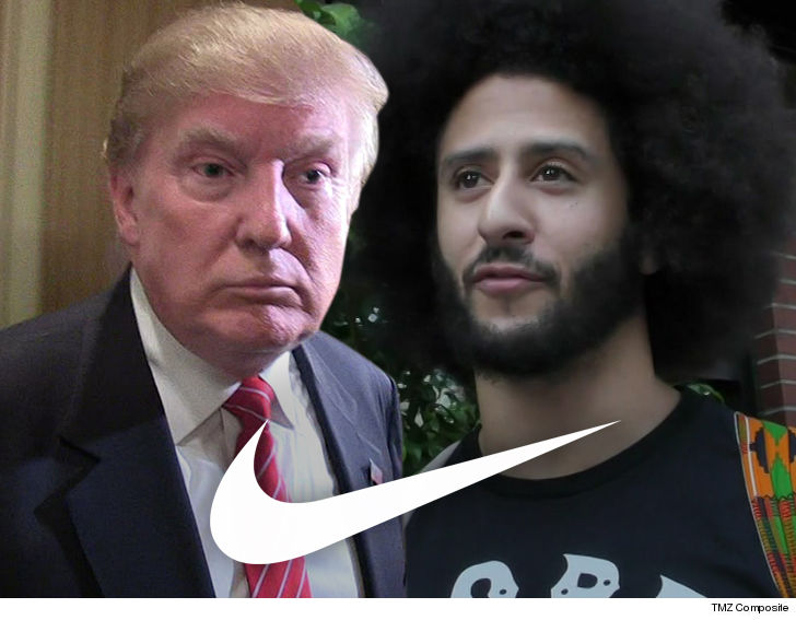 Donald Trump Says Nike's Colin Kaepernick Ad Sends 'Terrible Message'