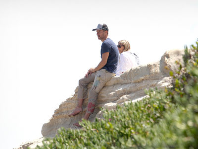 Gwyneth Paltrow Hangs with Ex-Husband Chris Martin in Malibu