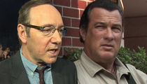 Kevin Spacey, Steven Seagal Won't Be Charged for 2 Alleged Sexual Assaults