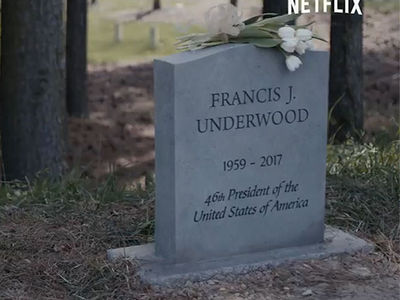 Kevin Spacey's Character is Dead and Buried in 'House of Cards' Trailer
