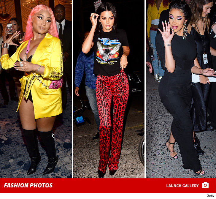 Kendall Jenner Cardi B Nicki Minaj Bring Beef To Ny Fashion Week