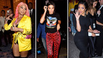 Kendall Jenner, Cardi B & Nicki Minaj Bring Beef to NY Fashion Week