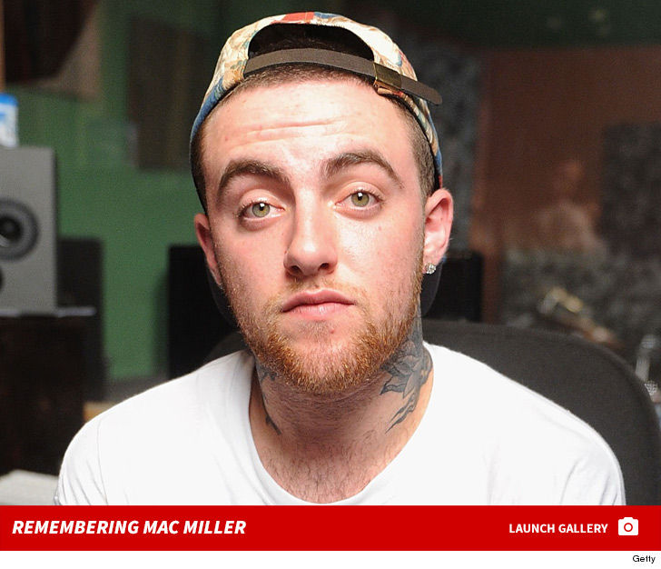 Mac Miller Dead at 26 ... Apparent Overdose