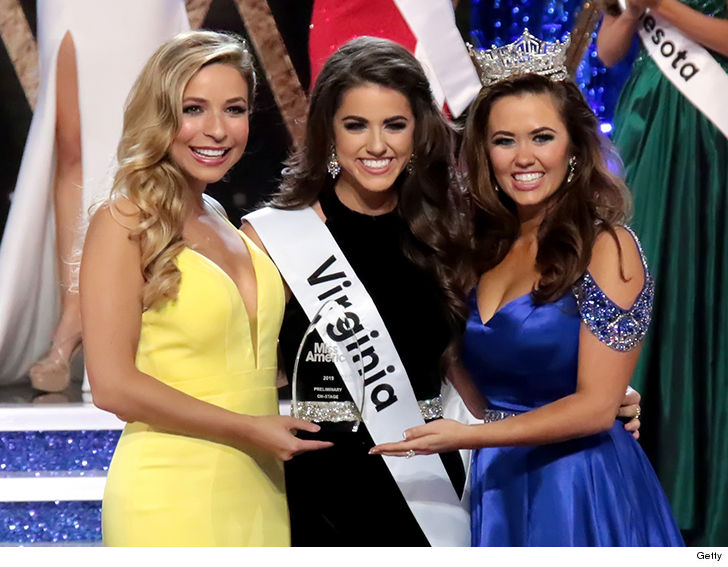 Miss Virginia Backs NFL Kneelers During Miss America Prelim, Wins