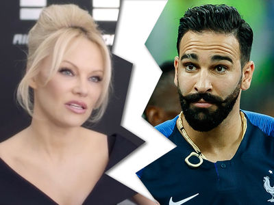 Pamela Anderson Breaks Up With World Cup Champion Adil Rami After He Proposed