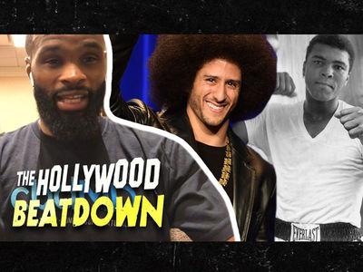 Tyron Woodley Says Kaepernick Is the New Muhammad Ali