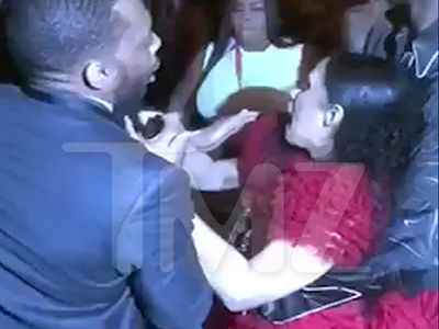 Cardi B Gets Lump on Head, Attacks Nicki Minaj, Throws Shoe, 'Calls Her P***y (VIDEO)