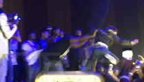 NBA Youngboy's Security Pulls Fan On Stage, Then Throws Him Back Off