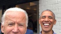 Barack Obama and Joe Biden Smiling in Selfie as Former Veep Returns to Instagram